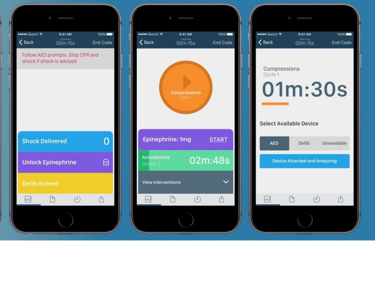 Redivus Health app screens