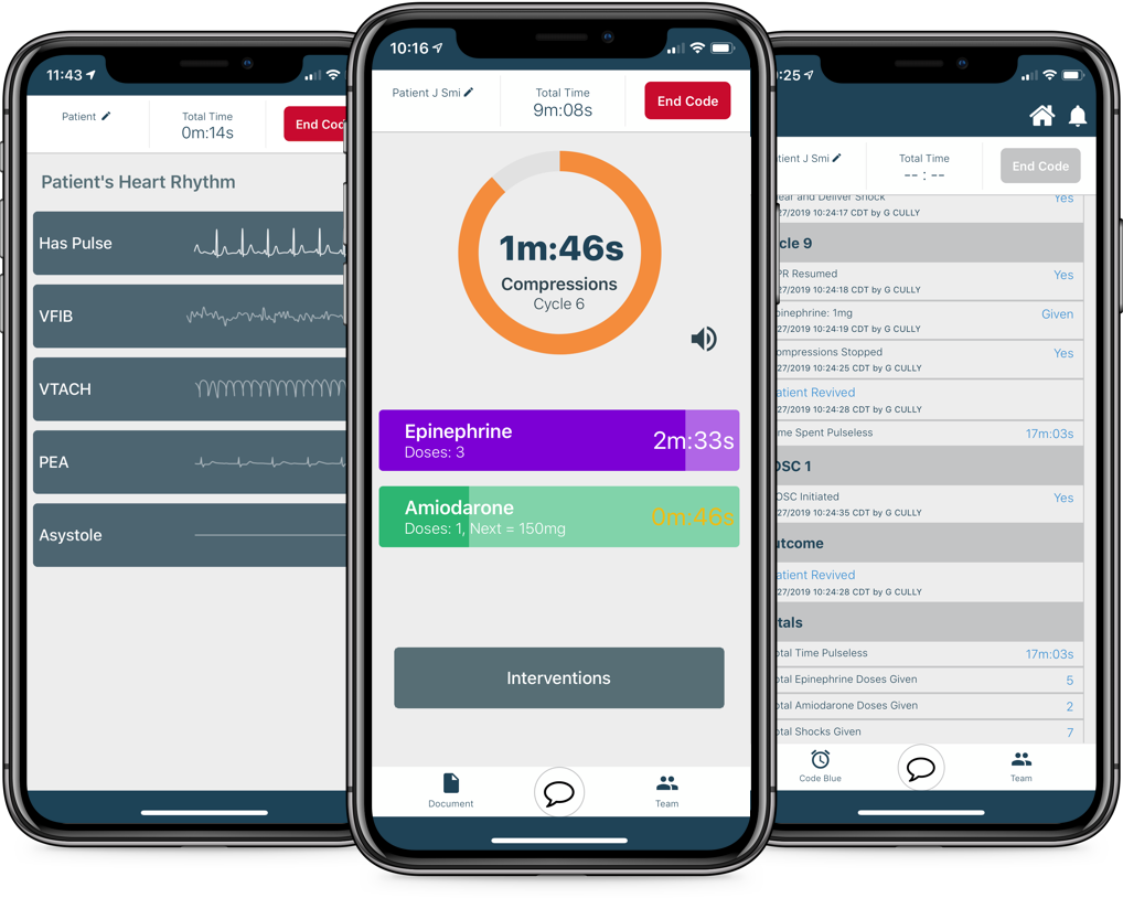 Redivus Health Code Blue App